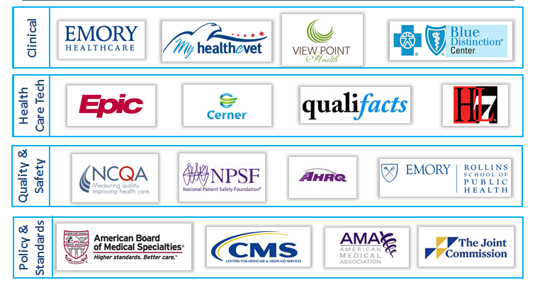 Organizations With Whom We Have Worked